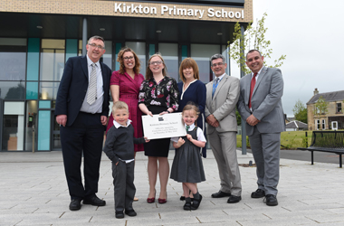 official opening of Kirkton PS