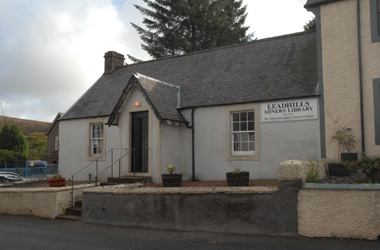 exterior view of Leadhills miners library
