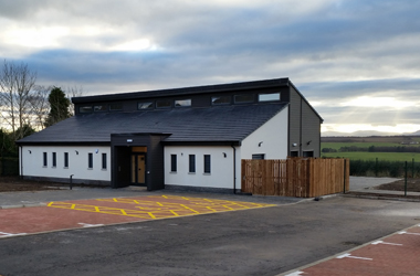 A purpose-built facility to provide support across Clydesdale for people with life-limiting illness has been built in Forth