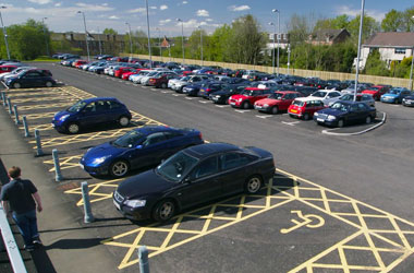 Park and ride car park
