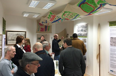 The Official Launch of the Mapping the Past Exhibition in Carluke, April 2016, copyright CAVLP Heritage