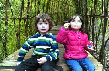 Outdoor play at New Lanark