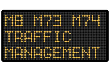 Traffic managements sign