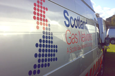 Scotland Gas Networks van
