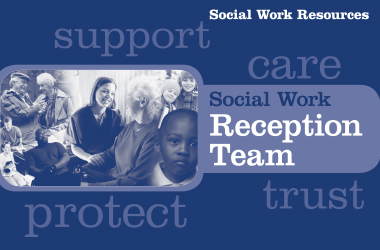 From Monday 20 June 2016 we are launching a single point of contact for all new enquiries for anyone looking for social work information or support.