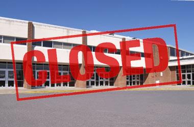 generic school closure image