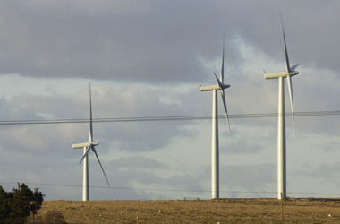 generic view of windfarm