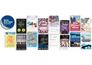 World Book Night 2016 - 15 titles being given away