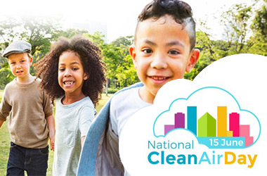 National Clean Air Day banner taken from www.cleanairday.org.uk/scotland