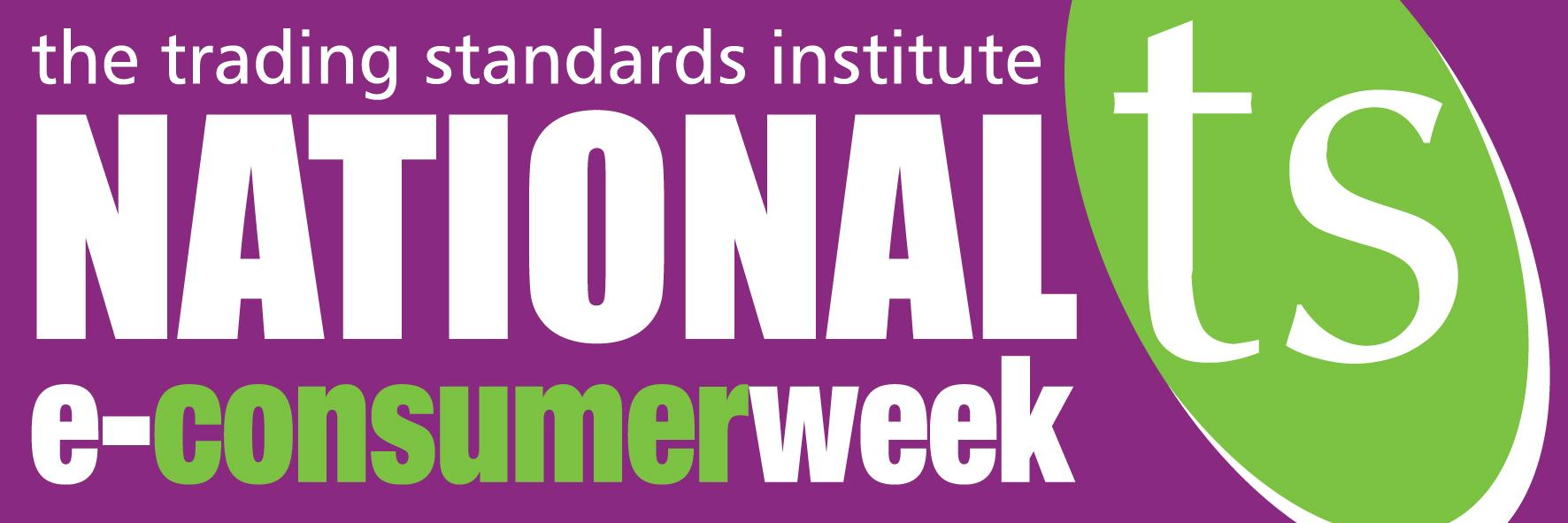National e-consumer week logo