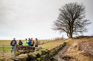 Clyde walkway volunteers - photo credit Paul Murtagh