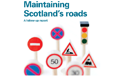 image used for Report:  Maintaining Scotland's roads: a follow-up report - sourced from http://www.audit-scotland.gov.uk