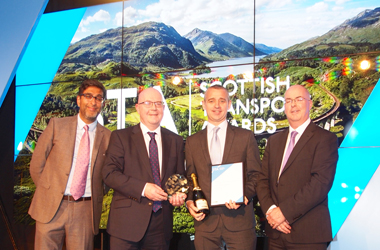 Local Transport Authority of the Year, was presented to South Lanarkshire Council