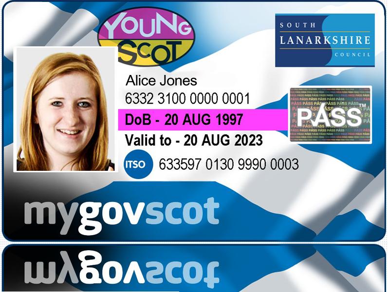 South Lanarkshire National Entitlement Card