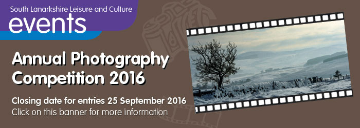 South Lanarkshire Leisure and Culture Annual Photography Competition