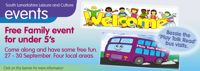 Free Family Events for Under 5's