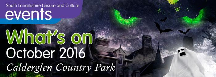 Calderglen Country Park What's On October 2016