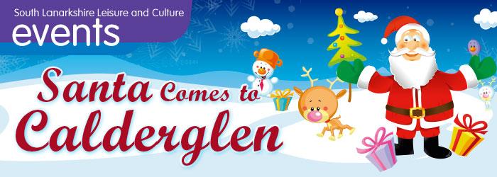 Christmas Events at Calderglen Country Park, East Kilbride, South Lanarkshire