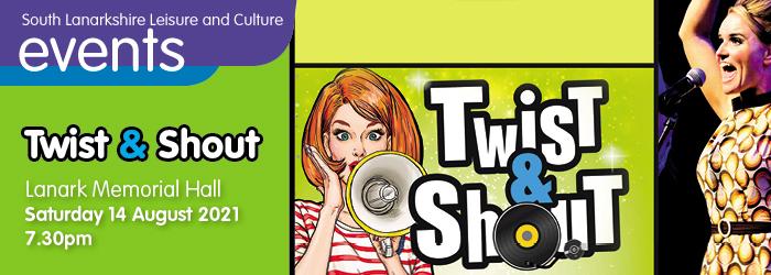 Twist and Shout at Lanark Memorial Hall Slider image