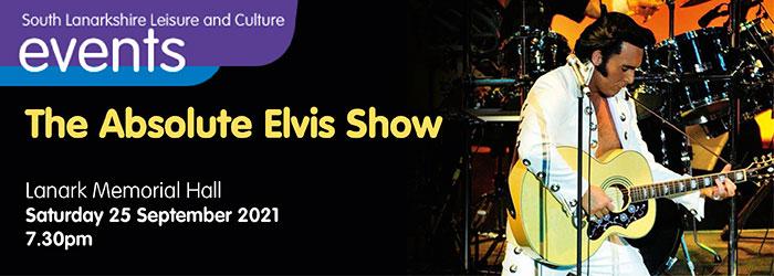 Absolute Elvis at Lanark Memorial Hall Slider image