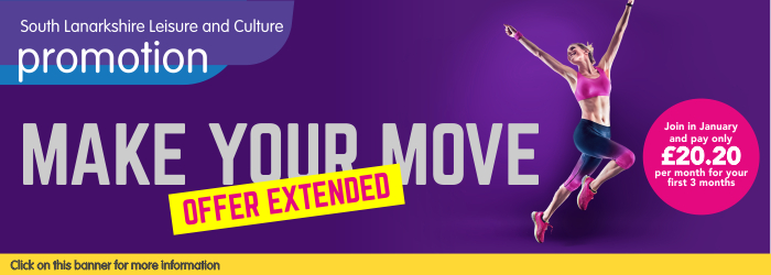 Fitness Membership Offer - Make Your Move Slider image