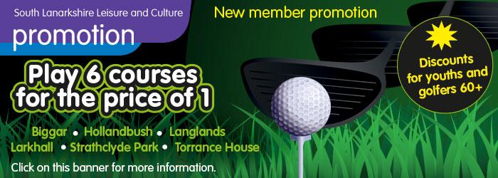 Golf season tickets now on sale Slider image
