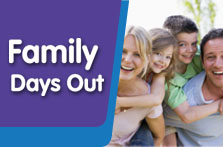 Link to Family days out with South Lanarkshire Leisure and Culture web page