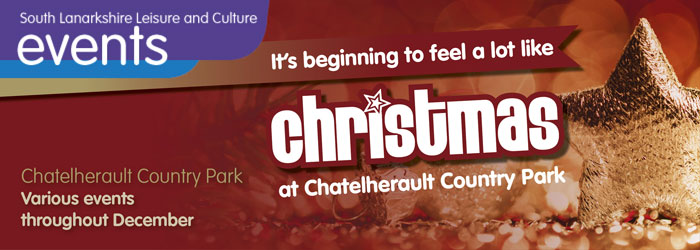 It's beginning to feel a lot like Christmas at Chatelherault Country Park