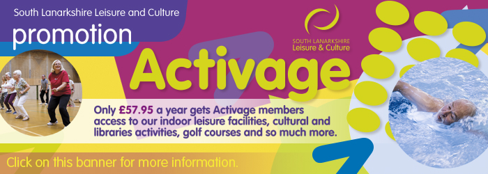 Activage with South Lanarkshire Leisure and Culture