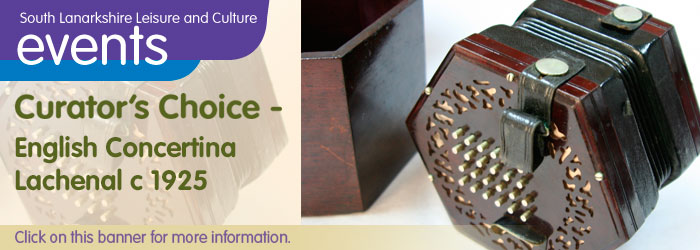 The Townhouse, Hamilton Curator's Choice: English Concertina – made by Lachenal  c 1925
