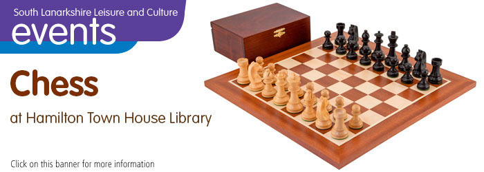 Chess at Hamilton Town House Library Slider image