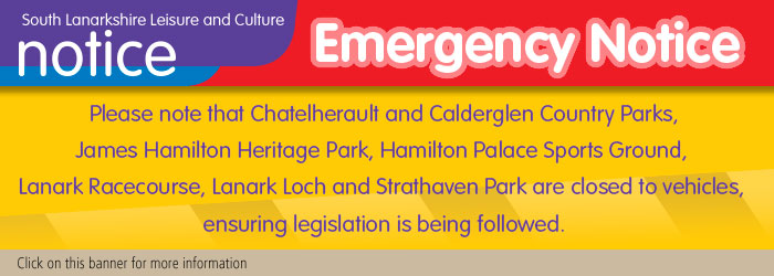Country parks and outdoor recreation spaces closed to vehicles during Covid-19 restrictions Slider image