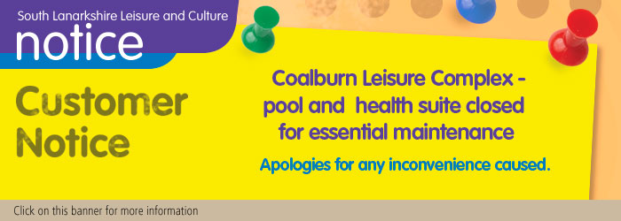 Coalburn Leisure Complex Essential Maintenance