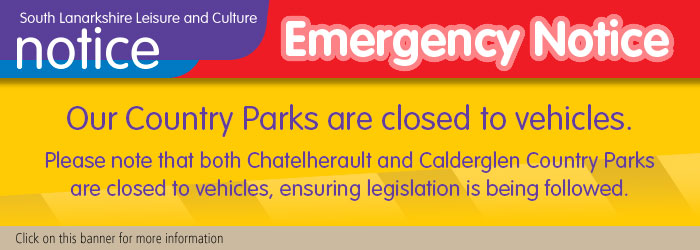 Country Parks Closed to Vehicles