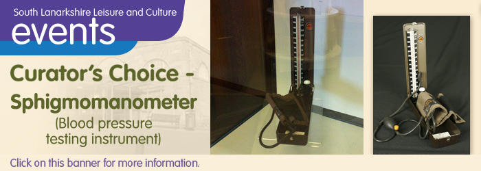 Lanark Library Curator's Choice - Sphigmomanometer