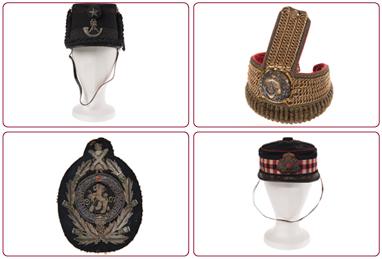 Digitisation of military uniform accessories