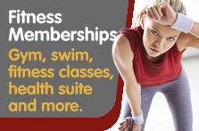 Fitness memberships with South Lanarkshire Leisure and Culture