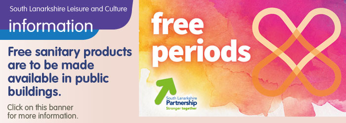 Free sanitary products for public buildings Slider image