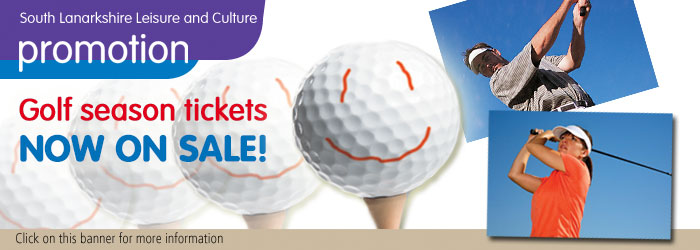Golf season tickets now on sale Slider image