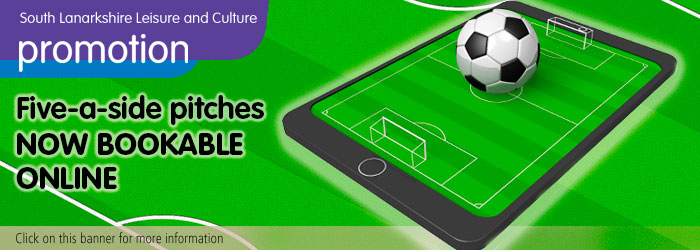 Book Five-a-side Pitches online, Hamilton Palace Sports Ground, Hamilton, South Lanarkshire Leisure and Culture, football, pitches, Slider image