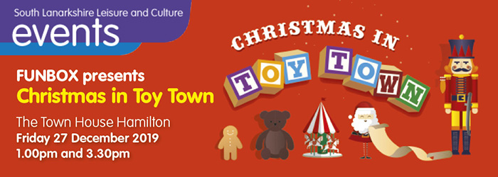 Funbox present Christmas in Toy Town