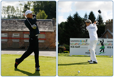 Junior Coaching at Broadlees Driving Range