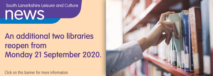 Two more libraries to reopen on 21 September!