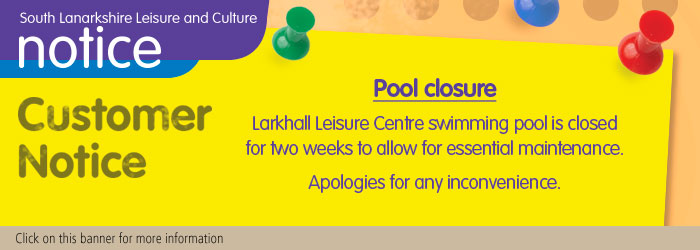 Larkhall Leisure Centre Pool Closure