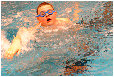 Level 1- beginners swimming lessons at South Lanarkshire Leisure and Culture