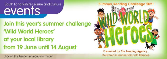 Summer reading challenge - Wild World Heroes Slider image