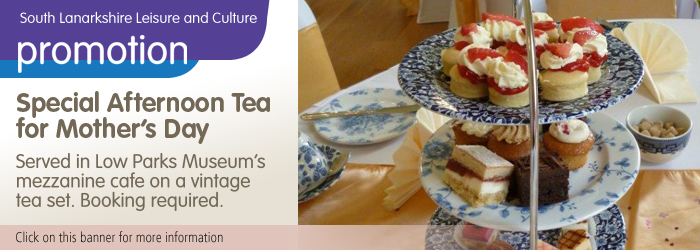 Special Afternoon Tea for Mother's Day at Low Parks Museum