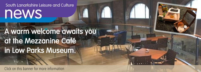 Low Parks Museum Mezzanine Cafe Reopens Slider image