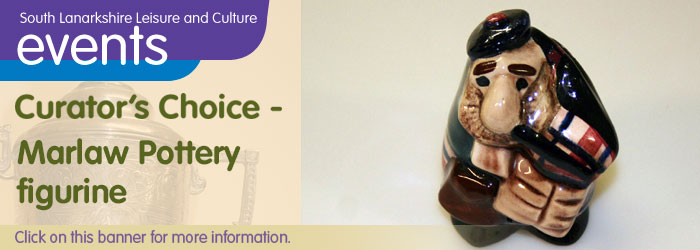 Hamilton Town House Library Curator's Choice: Marlaw Pottery Figure