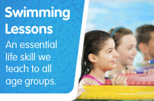 Link to Swimming lessons with South Lanarkshire Leisure and Culture web page